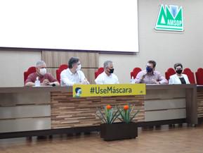 Amsop define autonomia a prefeitos sobre aulas presenciais