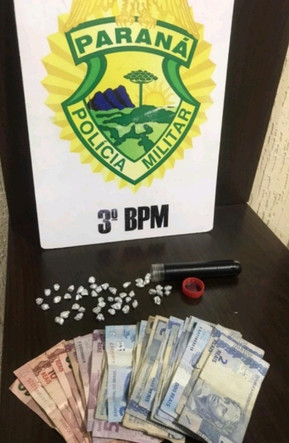 ROTAM  prende homem por tráfico de drogas em Clevelândia