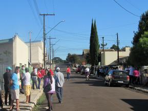Clevelândia: Sine registra longa fila de pessoas em busca de vagas de trabalho