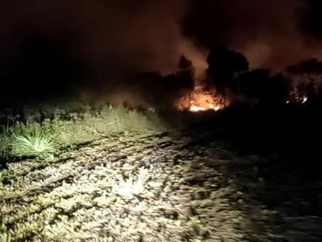 Defesa Civil atende ocorrência de incêndio em Clevelândia