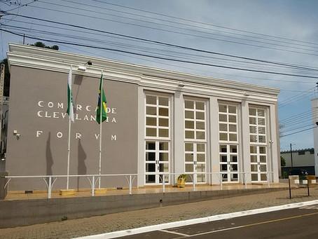 Processo Seletivo de estagiário do Fórum da Comarca de Clevelândia