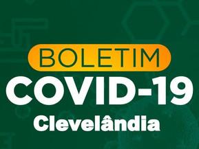 Durante a semana Clevelândia registrou 36 novos casos de covid-19