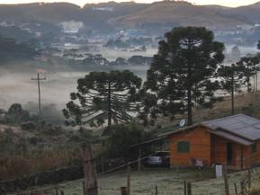Santa Catarina registra primeira temperatura negativa de 2021