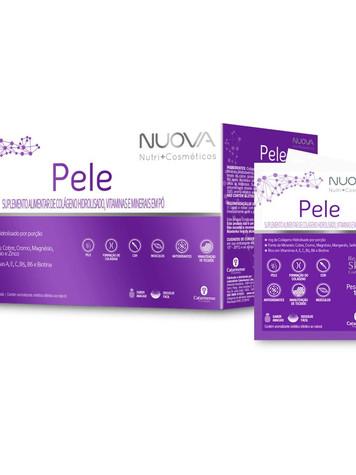 Colágeno nuova pele c/30 sachês:   R$ 70,00