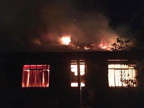 Clevelândia: morte por arma de fogo, seguido de incêndio em residência