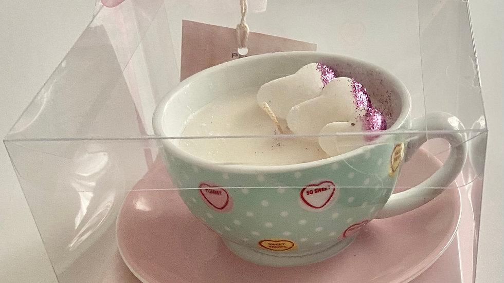 Tea with Love Hearts