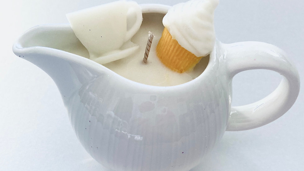 Little White Afternoon Tea Jug
