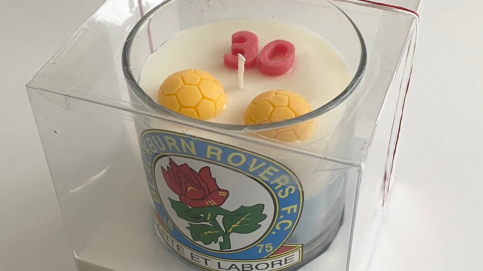 Football Team Candle