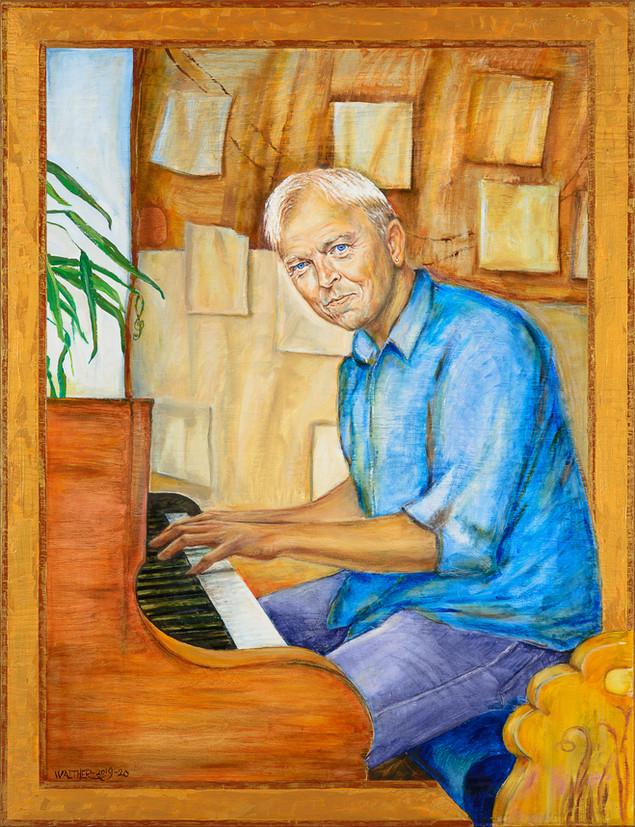 Poul Christian Balslev. Organist og klokkenist ved Vor Frue Kirke Svendborg