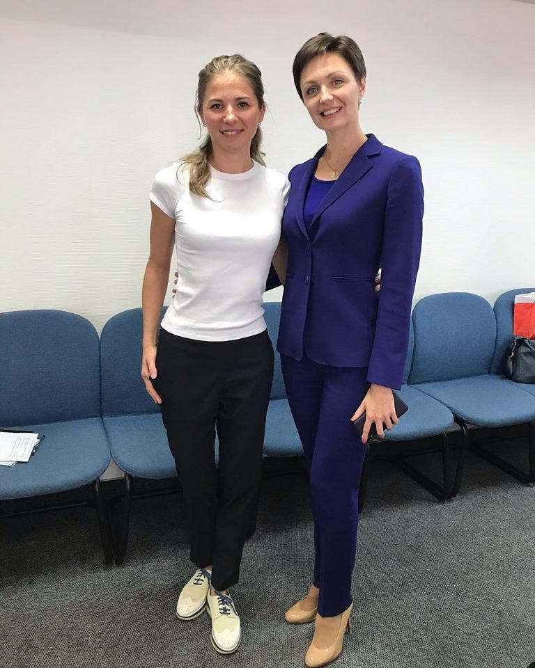Анна Насекина и Анастасия Давыдова