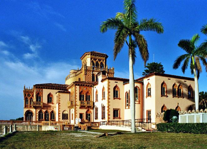 11Ca' d'Zan, Ringling Winterresidenz,  Sarasota Bay, Florida