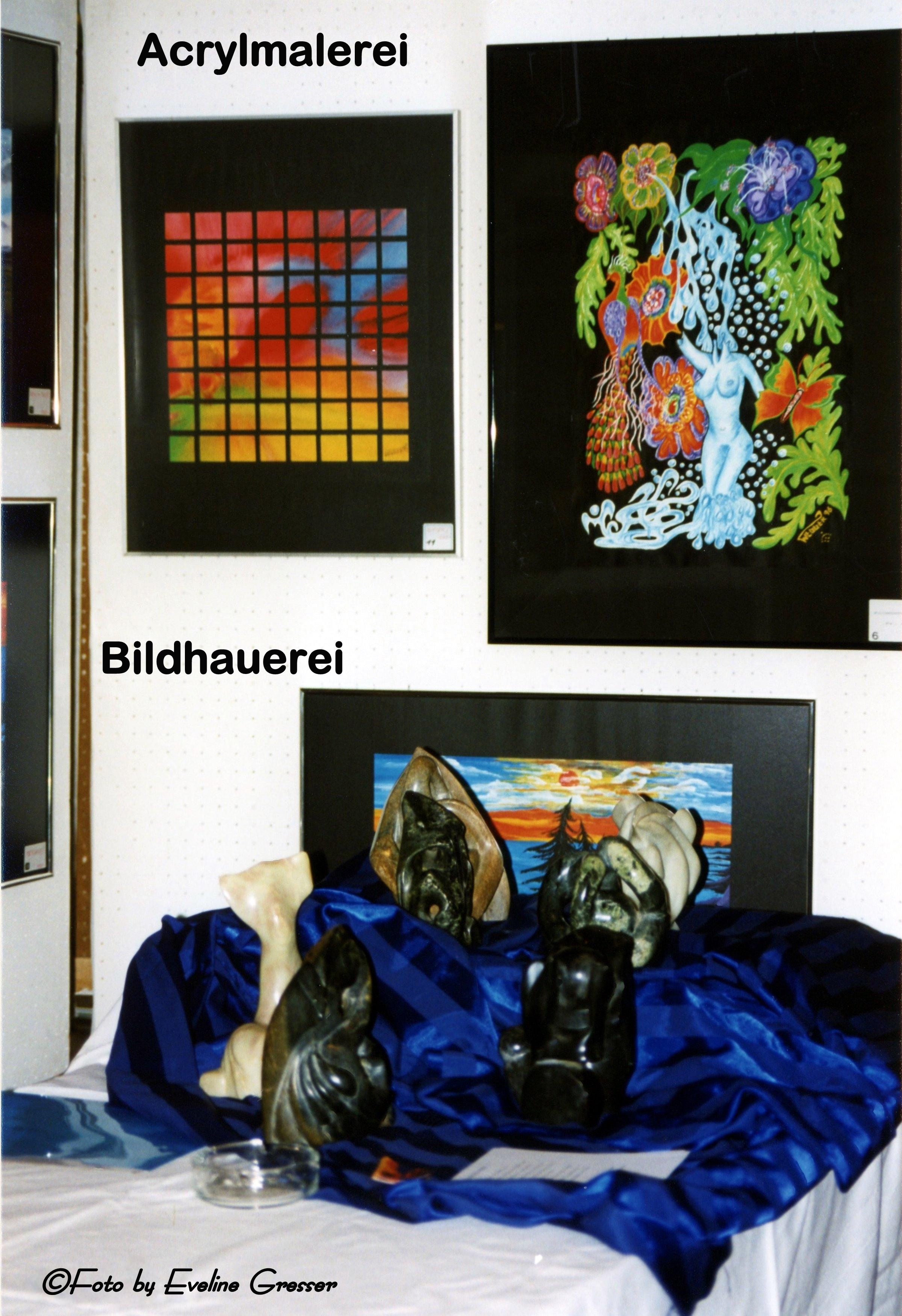 40AcrylmalereiBildhauerei