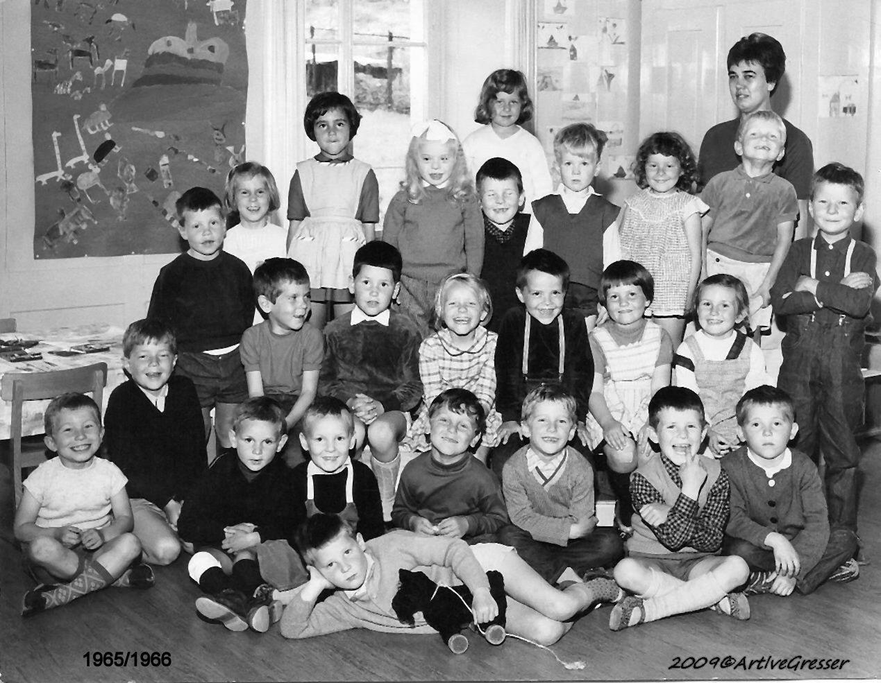 1965-66 (2) Kindergarten