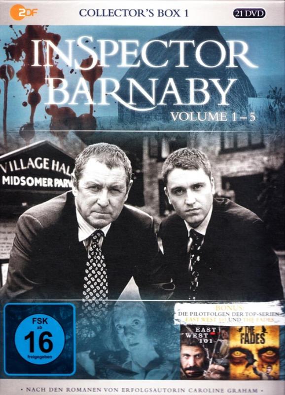 Inspector Barnaby Volume 1-5