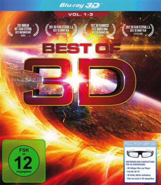 BEST OF 3D Vol. 1-3