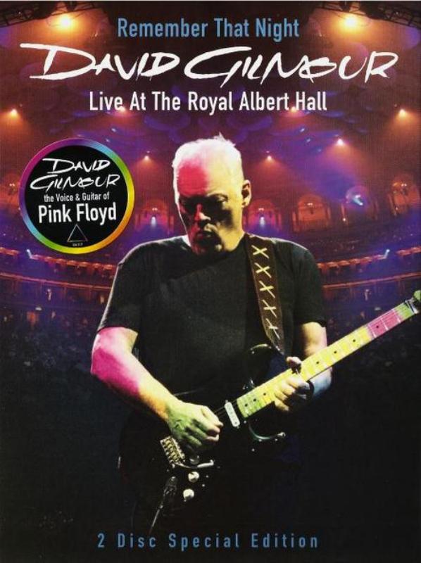David Gilmour Live At The Royal Alber Hall