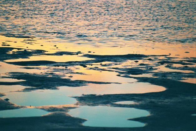 19Sunrise, Ft de Soto Park, Florida-Was ist Oben, was ist Unten
