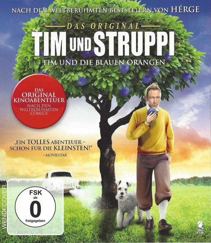 Tim und Struppi Tim und die Blauen Orangen_f