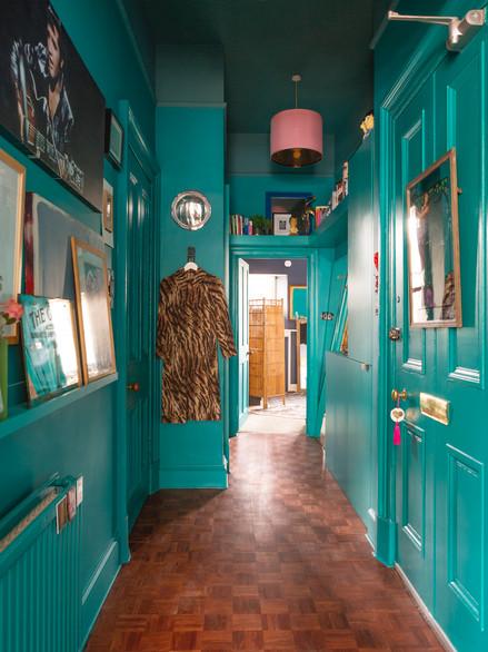Haymarket, hallway