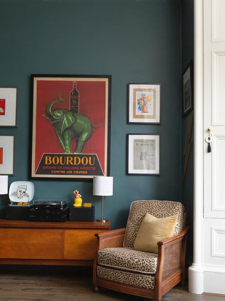 Haymarket, living room