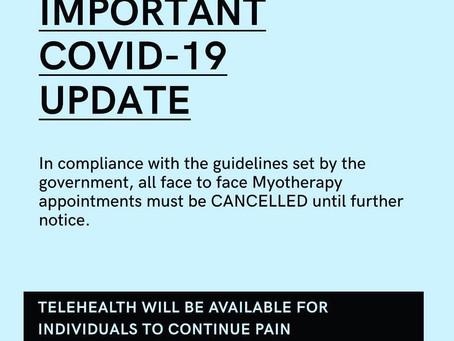 COVID-19 UPDATE 2.0