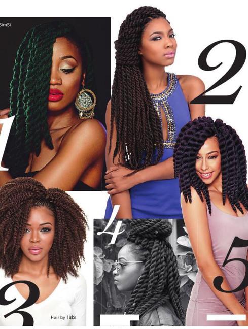 Black Beauty Crochet Braids