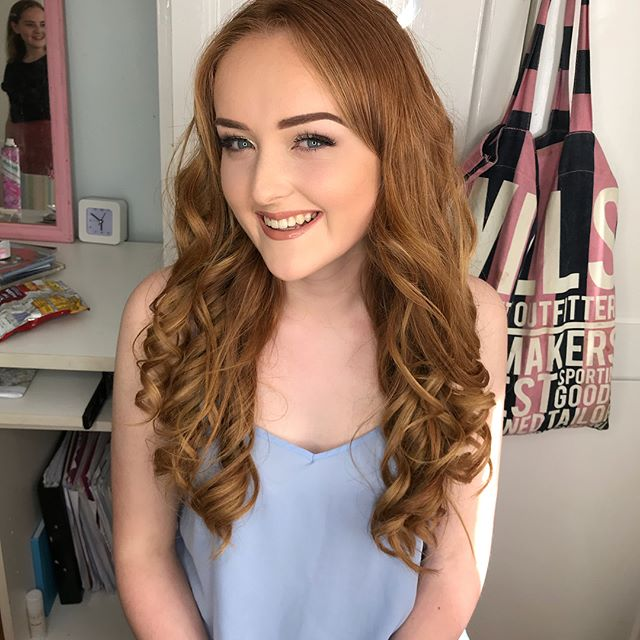 And it's prom season! 💃🏾💃🏾 💃🏾 Loved doing Ava's makeup for her prom today she looks absolutely