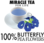 Butterfly Pea Flower Better eyesight Preven Cataract Preven White Discharge Regulates Menstrual Healthy Hair and Skin