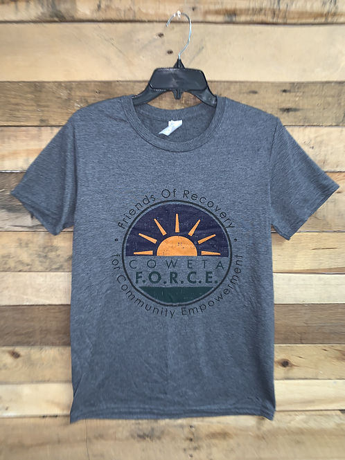 Charcoal Gray Logo T-Shirt