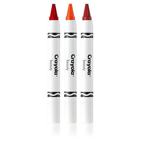 Crayola Crayon Trio Wild Fruits - Very Cherry, Mango Tango, Strawberry