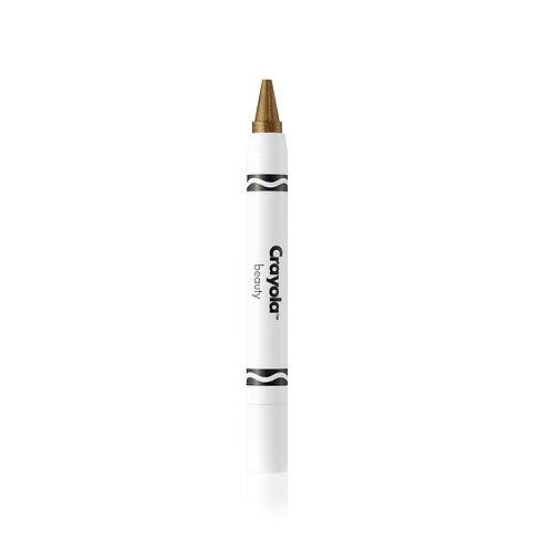 Crayola Face Crayon  - Gold (Metallic)