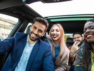 Why corporate want their employees to ride share to work?