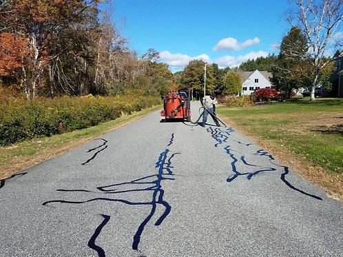 Driveway Crack Filling