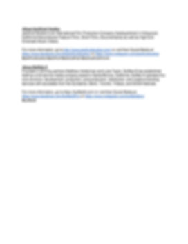 Press Release JF- FOR IMMEDIATE RELEASE-