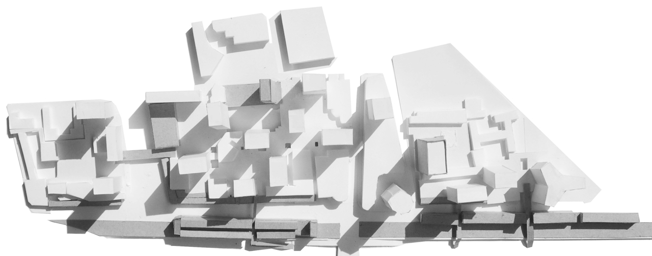 plan masse fond blanc