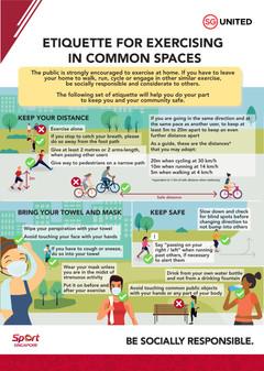 Etiquette for Exercising in Common Spaces