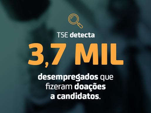 Doação eleitoral: TSE identifica mais de 3 mil desempregados doando recursos a candidatos