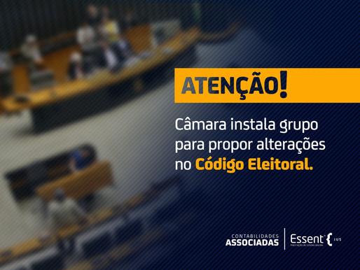 Código eleitoral: Grupo de Trabalho é criado pela Câmara para propor alterações