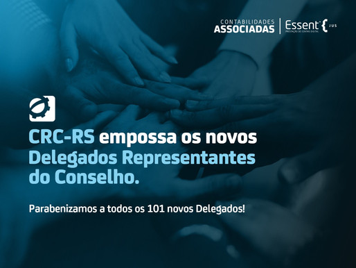CRC-RS empossa 101 novos delegados representantes