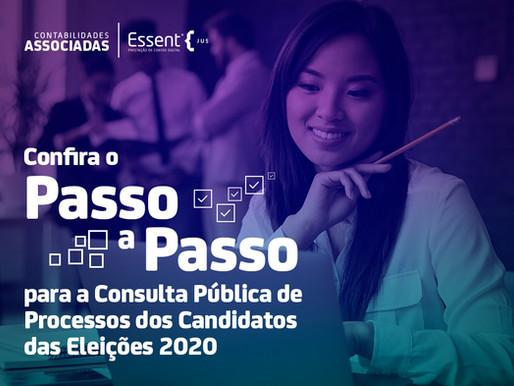 Saiba como consultar dados de candidatos pelo PJ-e