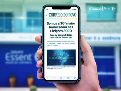 Rede de Contabilidade Essent Jus é o 10º maior fornecedor do Brasil nas Eleições 2020