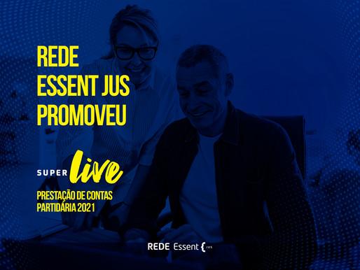 Rede Essent Jus promoveu super live sobre prestação de contas partidárias