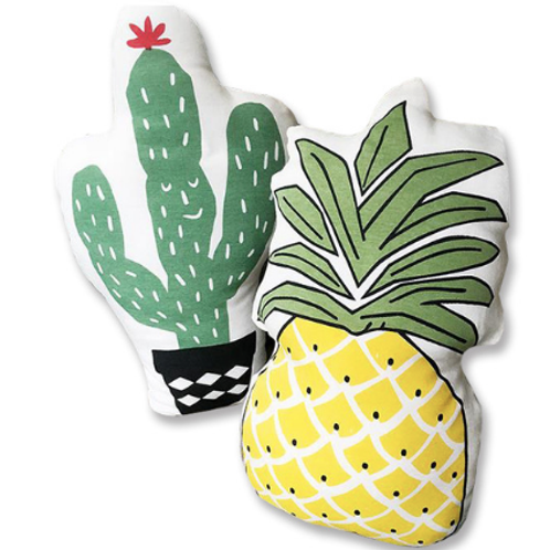 Soft back Cushion Cactus seat cushions Pineapple Pattern Decorative Pillow