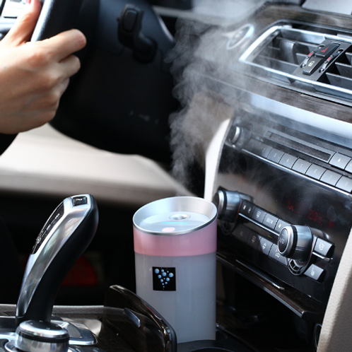 300ML Ultrasonic Humidifier USB Car Humidifier Mini Aroma Essential Oil Diffuser