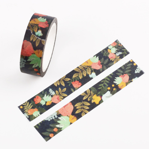 2 Rolls Dream Watercolor Painting Washi Tape Adhesive Craft Tape DIY