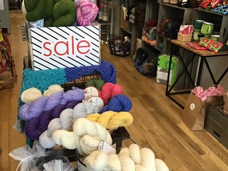 Local Yarn Shop Day! Sat, April 27th!