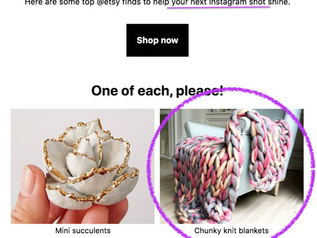 Chunky arm knit blankets & why this trend needs to go away