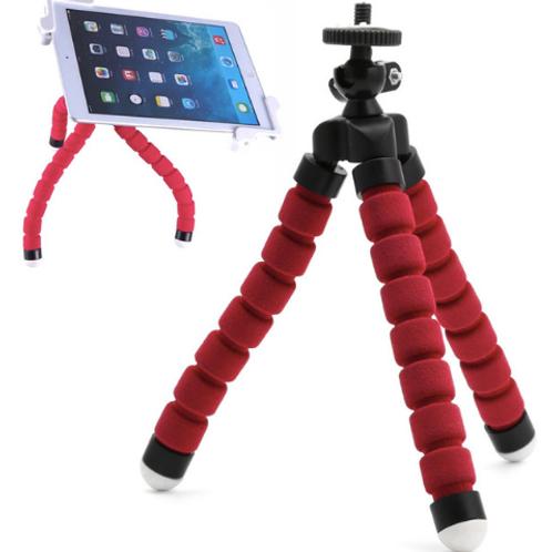 Universal Mini Portable Flexible Sponge Octopus Tripod Bracket Stand Mount