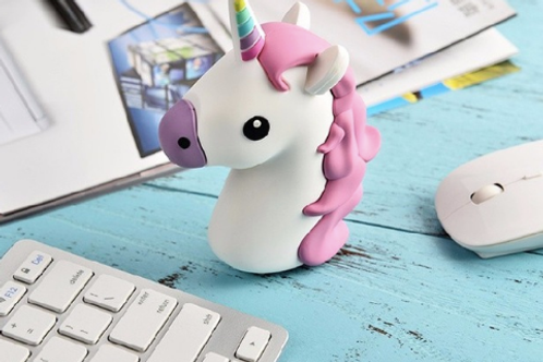 Unicorn Power Bank Cute Portable Powerbank Charger
