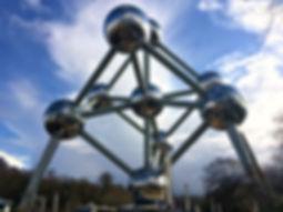 Atomium, the symbol of Brussels